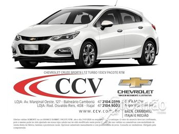 GM - Chevrolet CRUZE SPORT6 1.4 TURBO LTZ