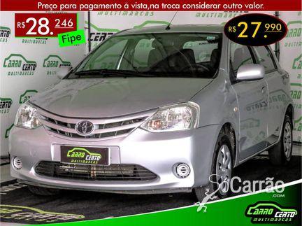 Toyota ETIOS HATCH - etios hatch XS 1.3 16V
