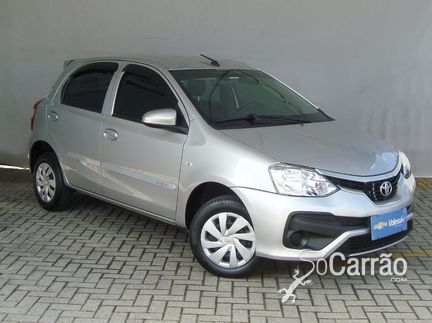 Toyota ETIOS HATCH - etios hatch X 1.3 16V AT