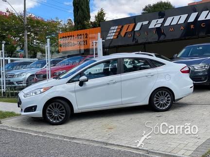 Ford NEW FIESTA SEDAN - new fiesta sedan TITANIUM 1.6 16V 125CV P.SHIFT