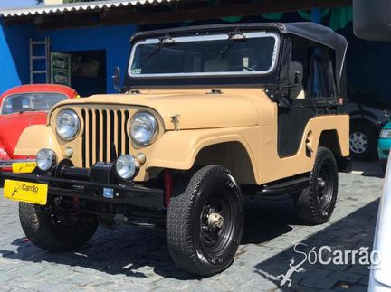 JEEP Willys - WILLYS OVERLAND 12V 6CILINDROS 2P