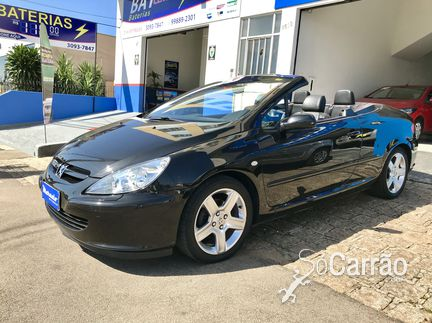 Peugeot 307 CABRIOLET - 307 CABRIOLET CC 2.0 16V AT