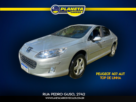 Peugeot 407 SEDAN - 407 sedan ALLURE 2.0 16V TIP