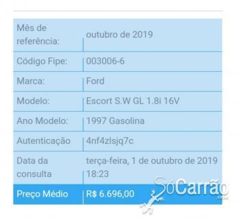 Ford ESCORT GL SW 1.8 16V