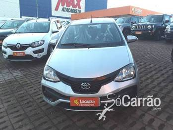 Toyota etios sedan X PLUS 1.5 16V AT