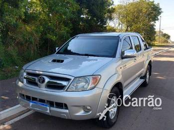 Toyota hilux cd SRV 4X4 3.0 TB-IC 16V AT