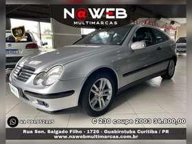 Mercedes C 230 - c 230 SPORT COUPE 2.5 V6