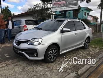Toyota Etios Platinum 1.5 16v Automatico