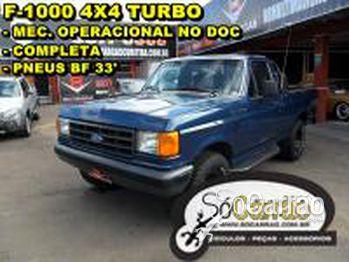Ford F1000 XLT 4X4 MWM TURBO