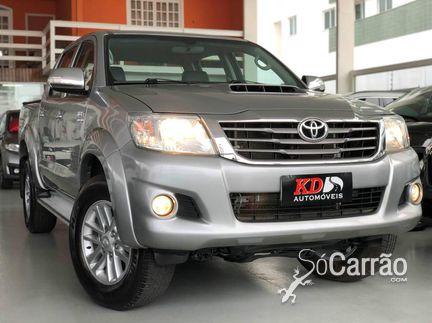 Toyota HILUX CD - hilux cd SRV 4X4 3.0 TB-IC 16V AT