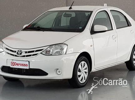 Toyota ETIOS SEDAN - etios sedan X 1.5 16V