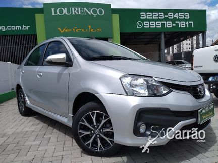 Toyota ETIOS SEDAN - etios sedan PLATINUM 1.5 16V AT