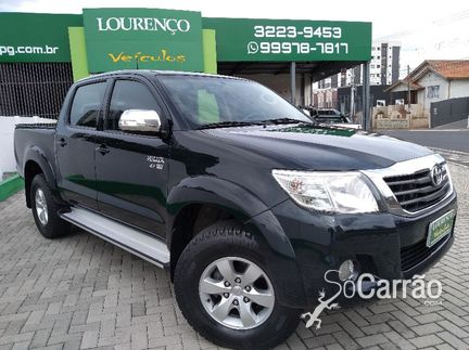 Toyota HILUX CD - hilux cd SRV 4X4 2.7 16V AT