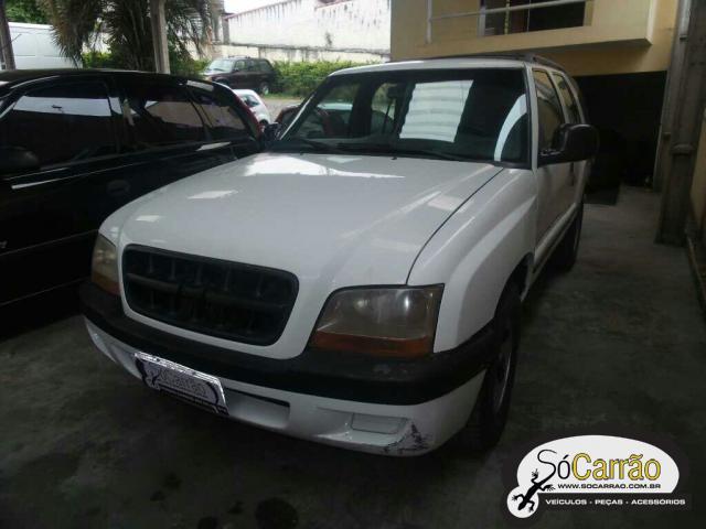 BLAZER 4.3 V6 USADO BRANCA 2001 R$ 13.900,00