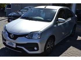 Toyota ETIOS SEDAN - etios sedan PLATINUM 1.5 16V AT