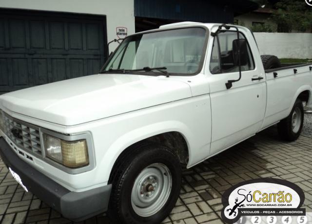 GM CHEVROLET C20 CUSTOM USADO BRANCA 1991 R$ 19.800,00