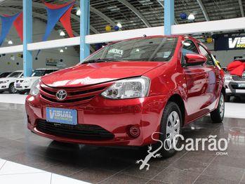 Toyota etios sedan X 1.5 16V