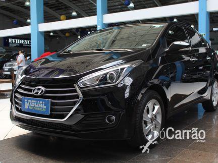 Hyundai HB20S - hb20s PREMIUM(BlueMedia e Couro) 1.6 16V AT